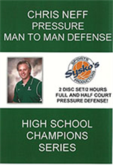 Chris Neff Pressure Man to Man Defense 2 Disc Set