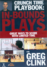 Crunch Time Playbook:  Inbounds Plays